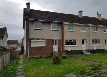 Thumbnail 2 bed end terrace house to rent in Lane Crescent, Drongan, Ayr