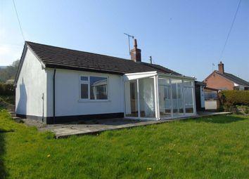 Thumbnail 2 bedroom bungalow for sale in Tegfan, Penybontfawr, Oswestry, Shropshire