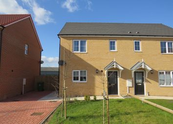 Thumbnail 2 bedroom semi-detached house for sale in Lychgate View, Old Leake, Boston