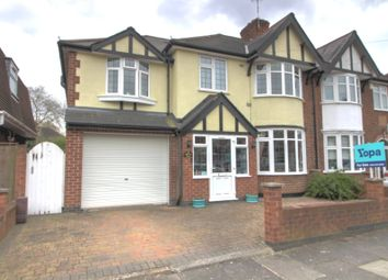 Thumbnail 5 bed semi-detached house for sale in Barton Road, Leicester