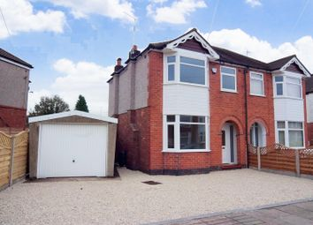 Thumbnail 3 bed semi-detached house for sale in Poitiers Road, Coventry