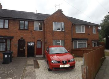 Thumbnail 3 bed terraced house for sale in Corley Avenue, Birmingham, West Midlands