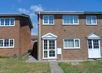 Thumbnail 2 bed semi-detached house to rent in Hazelwell Road, Porthcawl