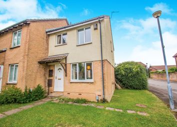 Thumbnail 3 bedroom end terrace house for sale in Tangmere Drive, Fairwater, Cardiff