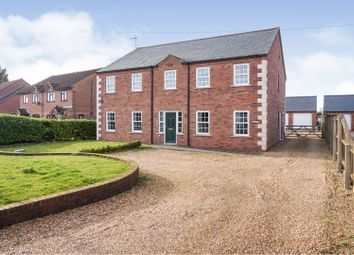 Thumbnail 4 bed detached house for sale in Church Lane, Tydd St Giles, Wisbech