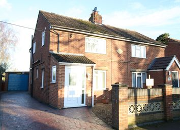 Thumbnail 3 bed semi-detached house for sale in Stowmarket Road, Great Blakemham, Ipswich, Suffolk