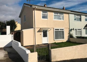 Thumbnail 3 bedroom semi-detached house for sale in Coombe Park Lane, Plymouth