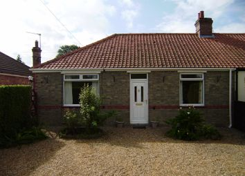 Thumbnail 2 bed bungalow to rent in Pullover Road, Tilney All Saints, King's Lynn