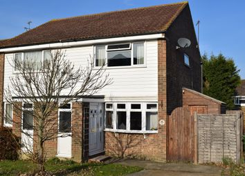 Thumbnail 2 bed semi-detached house for sale in Stanley Close, Staplehurst, Tonbridge