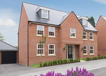 "Thumbnail 5 bedroom detached house for sale in ""Lichfield"" at Kensey Road, Mickleover, Derby"