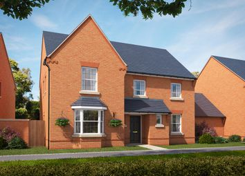 "Thumbnail 5 bed detached house for sale in ""Manning"" at Stockton Road, Long Itchington, Southam"
