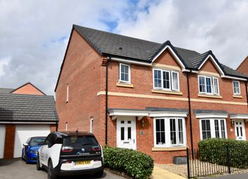 Thumbnail 3 bed semi-detached house for sale in Lathkill Street, Market Harborough