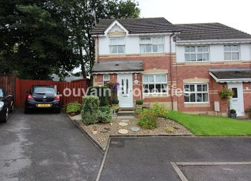 Thumbnail 3 bed semi-detached house for sale in Elmwood Grove, Georgetown, Tredegar, Blaenau Gwent.