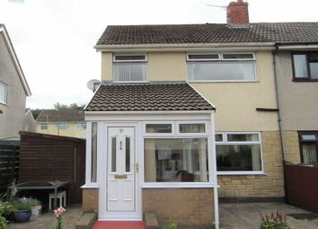Thumbnail 3 bed semi-detached house for sale in St. Nicholas Court, Caerphilly