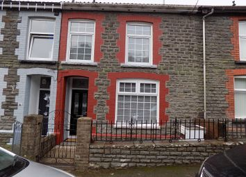 Thumbnail 3 bed terraced house for sale in Tyntyla Avenue, Ystrad, Pentre, Rhondda Cynon Taff.