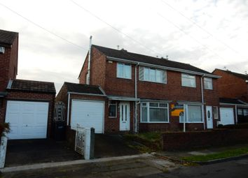 Thumbnail 3 bed semi-detached house for sale in 3 Moorland Drive, Bedlington, Northumberland