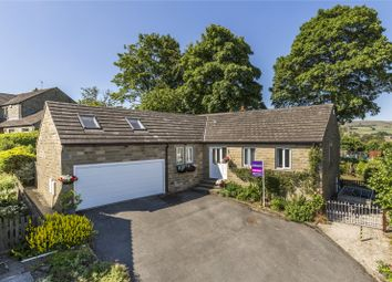 Thumbnail 4 bed detached bungalow for sale in Cross Farm Court, Oxenhope, West Yorkshire