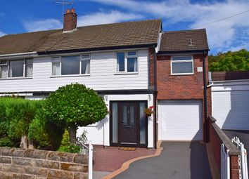 Thumbnail 4 bed semi-detached house for sale in Westmorland Avenue, Clough Hall, Kidsgrove