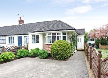 Thumbnail 2 bedroom bungalow for sale in Bramley Close, Chertsey, Surrey