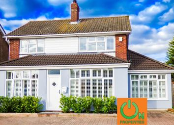 Thumbnail 4 bed detached house for sale in Great Fox Meadow, Kelvedon Hatch, Brentwood, Essex