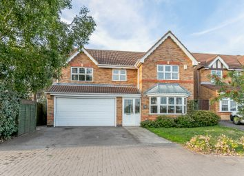 Thumbnail 4 bed detached house for sale in Forest House Lane, Leicester Forest East, Leicester