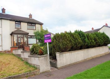 Thumbnail 3 bed end terrace house for sale in Linn Road, Larne