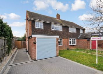 Thumbnail 3 bed semi-detached house for sale in Hadley Close, Bocking, Braintree