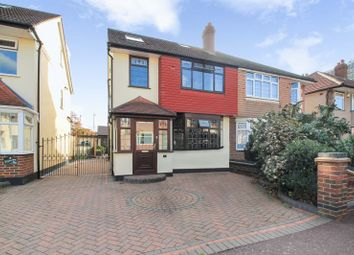 Thumbnail 4 bedroom semi-detached house for sale in St. Giles Close, Dagenham