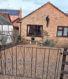 Thumbnail 1 bed detached bungalow to rent in Elmside, Emneth, Wisbech