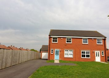 Thumbnail 3 bed semi-detached house to rent in Skerne Way, Darlington, County Durham