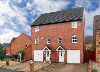 Thumbnail 3 bed town house for sale in Rosedale Close, Brockhill, Redditch