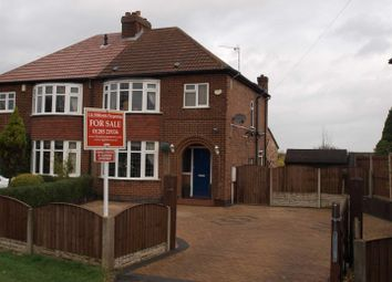 Thumbnail 3 bed semi-detached house for sale in Gresley Wood Road, Church Gresley, Swadlincote