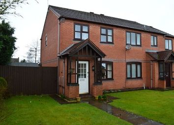Thumbnail 3 bedroom semi-detached house for sale in Ridings Close, Market Drayton