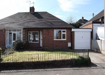 Thumbnail 2 bedroom semi-detached bungalow for sale in Coupe Drive, Weston Coyney, Stoke-On-Trent, Staffordshire