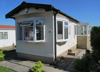 Thumbnail 1 bed mobile/park home for sale in Hill Tree Park (Ref 5939), Crosland Hill, Huddersfield, Yorks