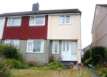 Thumbnail 3 bed semi-detached house for sale in Boringdon Hill, Colebrook, Plympton, Plymouth
