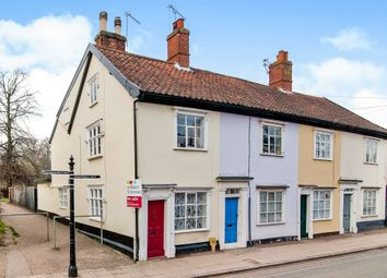 Thumbnail 3 bedroom end terrace house for sale in Mount Street, Diss