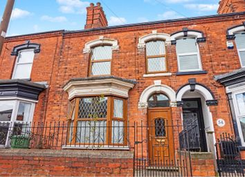 Thumbnail 3 bed terraced house for sale in Wollaston Road, Cleethorpes