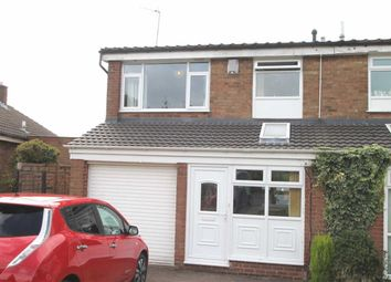 Thumbnail 3 bed semi-detached house for sale in Minley Avenue, Harborne, Birmingham