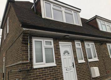 Thumbnail 3 bed maisonette to rent in Birdsfoot Lane, Luton