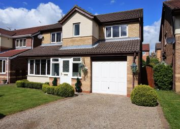 Thumbnail 4 bed detached house for sale in Vicarage Gardens, Willington, Crook