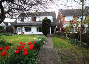Thumbnail 3 bedroom semi-detached house for sale in Down Hall Road, Rayleigh, Essex