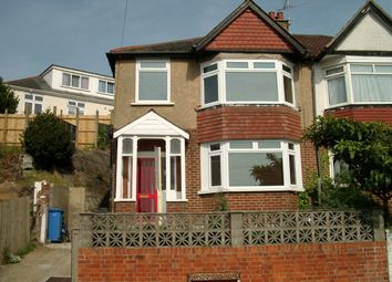 Thumbnail 3 bed semi-detached house to rent in Ponsonby Road, Parkstone, Poole