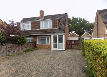 Thumbnail 3 bed semi-detached house for sale in Crete Road, Dibden Purlieu