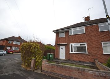 Thumbnail 3 bed semi-detached house to rent in Stratford Road, Leicester, Leicestershire