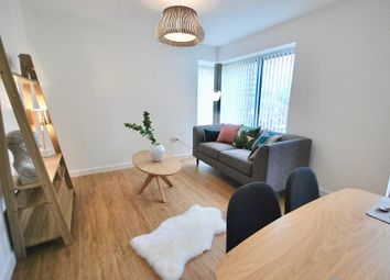 Thumbnail 2 bed flat to rent in City Road, Hulme, Manchester