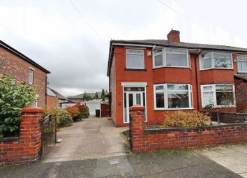 Thumbnail 3 bed semi-detached house for sale in Myrtle Grove, Whitefield, Manchester