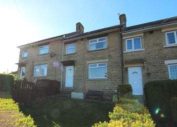Thumbnail 3 bed terraced house for sale in Lindwell Avenue, Greetland, Halifax
