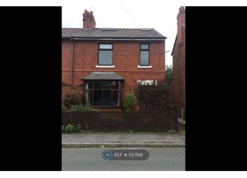 Thumbnail 4 bed semi-detached house to rent in Kingsley Road, Chester
