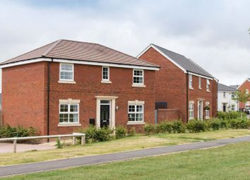 Thumbnail 4 bed detached house for sale in Bran Rose Way, Holmer, Hereford